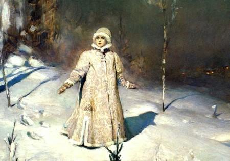 Снегурочка Васнецова. 1885 год. Фото:Public Domain
