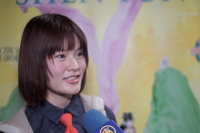 Лю на концерте Shen Yun почувствовала  «удивительную энергию», Огден, Юта, 26 декабря 2015 г. Фото:  Courtesy of NTD Television