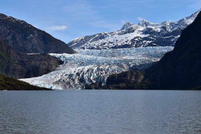 Опубликованы кадры катастрофического таяния ледника Менденхолд