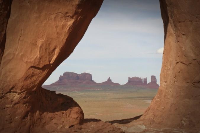 Долина Памятников, резервация индейцев навахо. Фото: Urosr/iStock