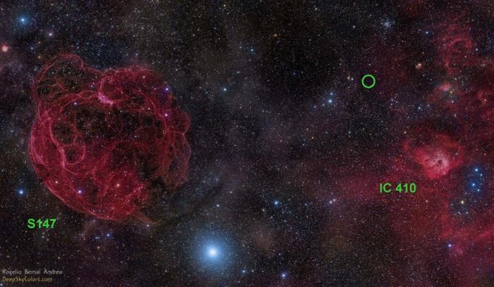 FRB-всплески, обнаруженные за пределами нашей галактики. Фото: NASA