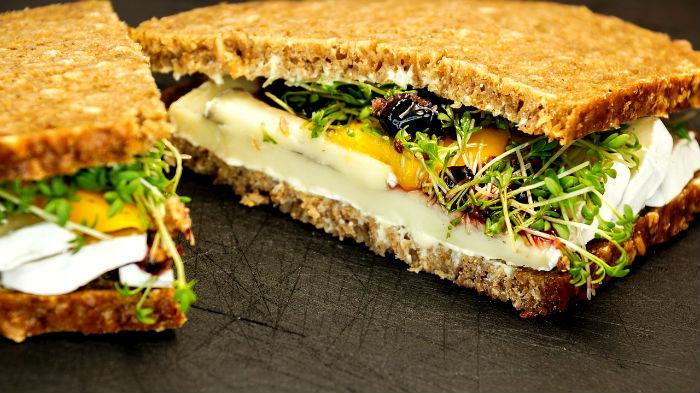 цельное зерно, цельнозерновой, бурый рис, витамины, минералы, холестерин, похудение, сэндвич, бутерброд, питание