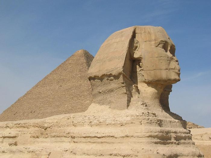 Египетский сфинкс. Фото: pixabay.com/CC0 Public Domain