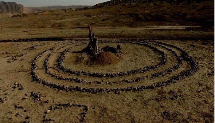 Таинственные каменные круги в пустыне Гоби