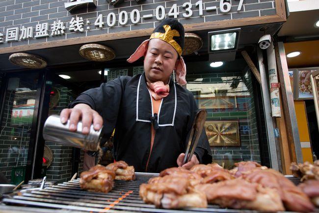 20 апреля 2015 года. Район Чаоян города Чанчуня в провинции Цзилинь. Фото: epochtimes.com