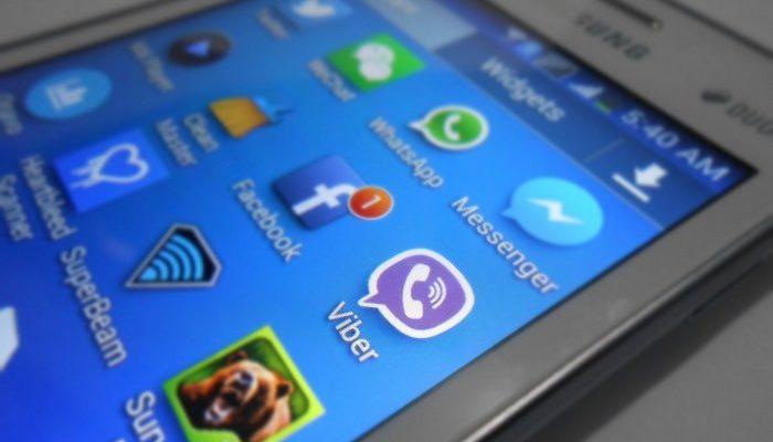 Viber стал самым популярным мессенджером в России