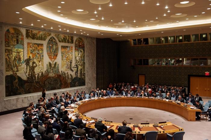 Заседание ООН по поводу поставок в Сирию оружия из Турции