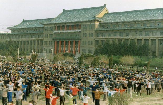 Жители Нью-Йорка пытаются спасти от репрессий в Китае последовательницу Фалуньгун