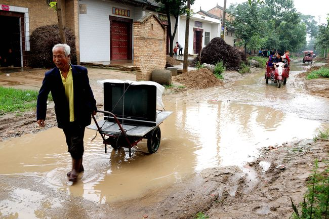 29 июня 2015 года. Деревня Наньлю провинции Шэньси. Фото: epochtimes.com