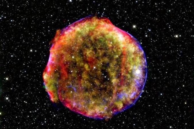 сверхновую звезду