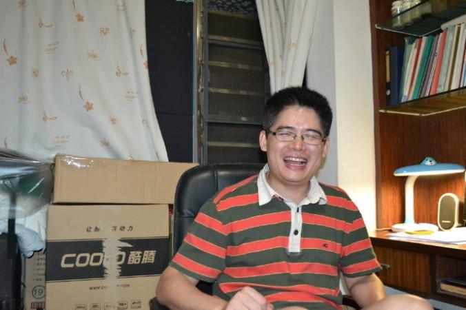 Цзэн Фейян, директор профсоюзного центра Panyu. Фото: Weibo.com