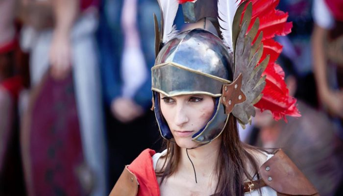 Женщины-гладиаторы: непристойные развлечения в Древнем Риме