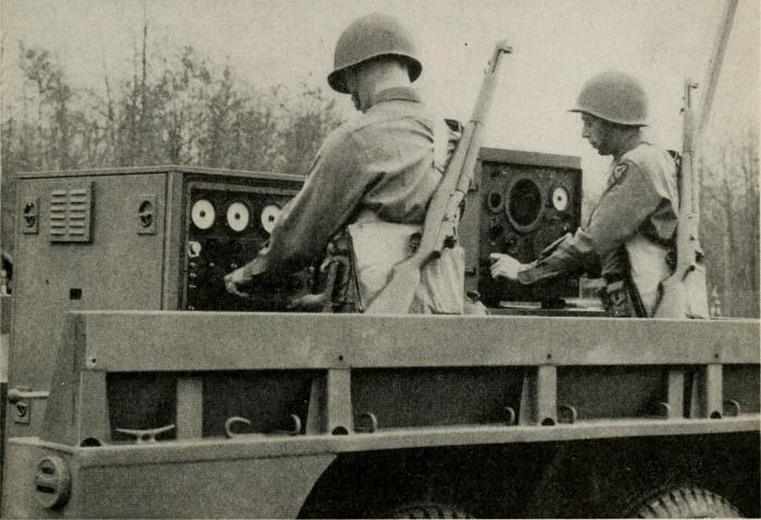 Устройство, созданное Дэвидом Б. Паркинсоном, использовалось в зенитной артиллерии для уничтожения воздушных целей