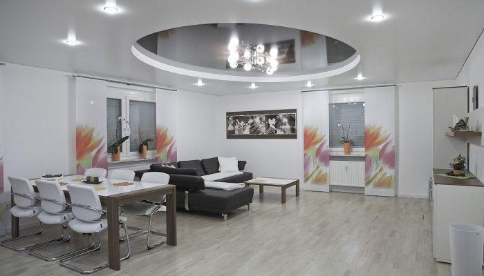 Натяжные потолки: любые дизайнерские решения