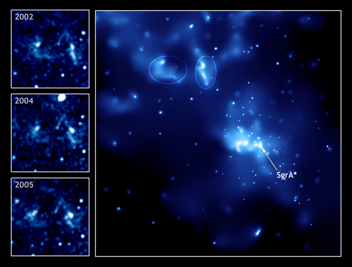 Чёрная дыра Стрелец А. Фото: NASA