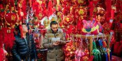 Новогодние декорации в Китае должны быть политически корректными