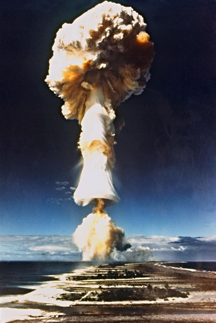 Взрыв водородной бомбы. Фото: AFP/Getty Images