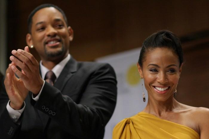 Уилл Смит с женой Джадой Пинкетт Смит. Фото: Chris Jackson/Getty Images