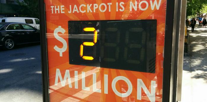 Лотерея Powerball, выигрыш, Калифорния, США