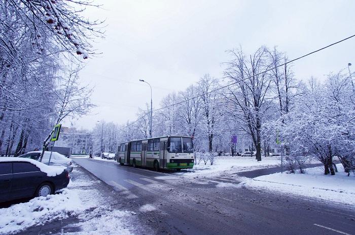 снегопады Москва