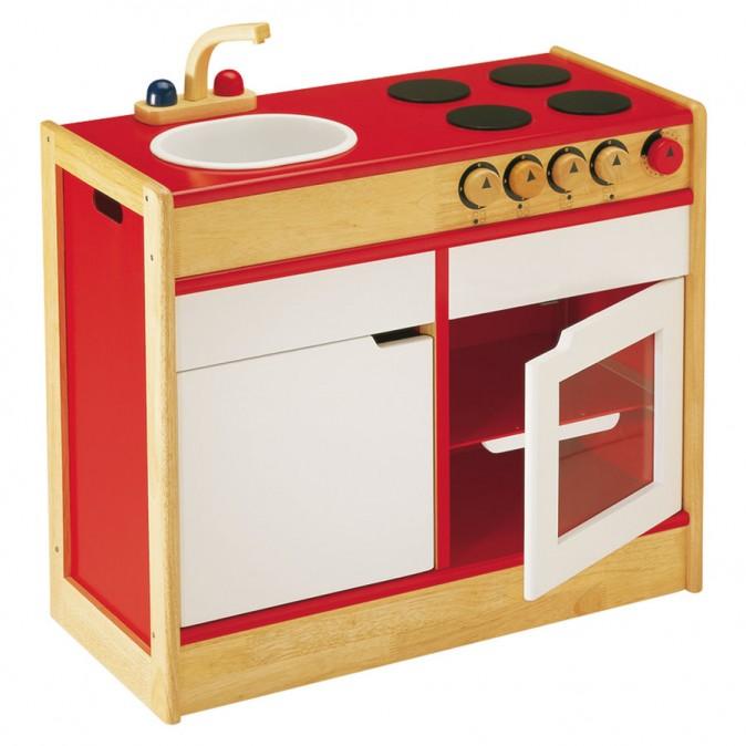 Раковина и плита от PinToy для игры в «кухню».