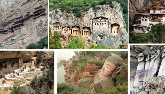 Десять уникальных древних сооружений, расположенных на скалах