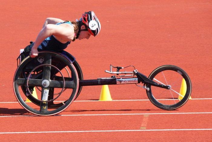 Татьяна Макфадден на Паралимпийских играх в 2009 году. Фото: Stuart Grout from Manchester, UK/en.wikipedia.org/CC BY 2.0