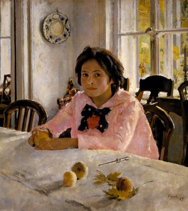 «Девочка с персиками». Валентин Серов. Фото: wikipedia.org/public domain