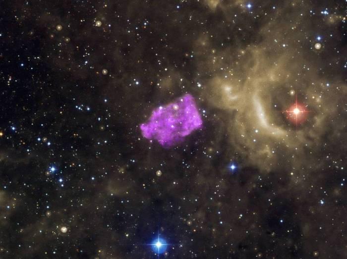 Взрыв сверхновой. Фото: NASA