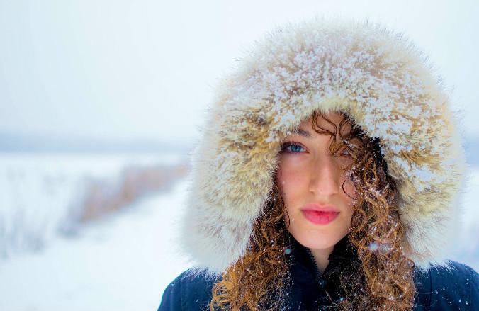 вирус гриппа, простуда, ОРЗ, зима, девушка