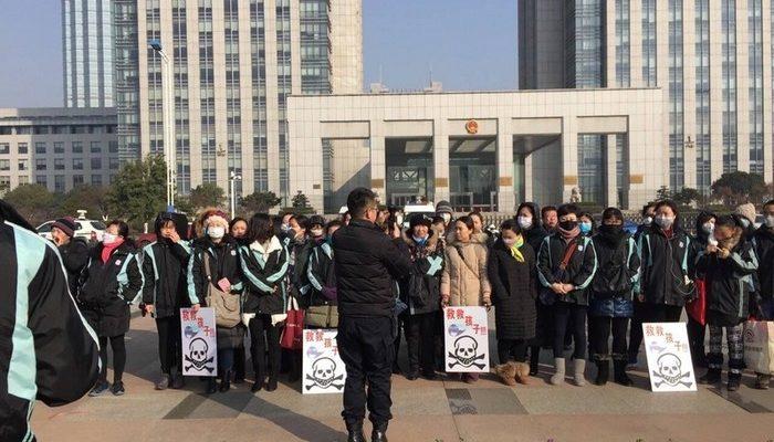 На востоке Китая вспыхнул протест против отравления детей химическими испарениями