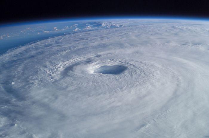 Озоновая дыра. Фото: NASA