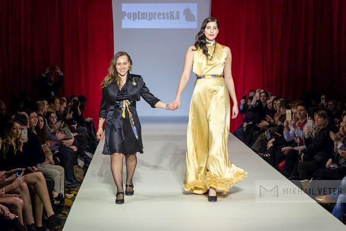 На модном шоу в Нью-Йорке дебютировала россиянка Ольга Папкович. Фото: Эрик Де Роса