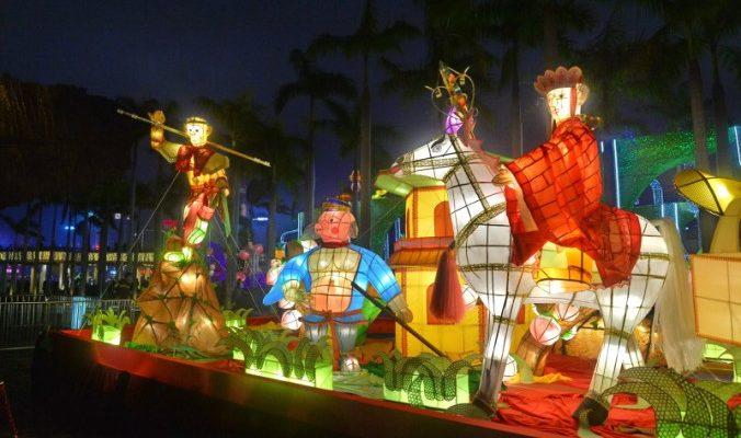 Фестиваль фонарей — китайский День святого Валентина (видео)