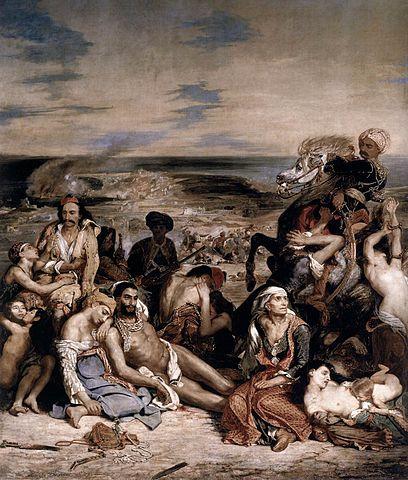 Эжен Делакруа — «Резня на Хиосе». 1824 год. Фото: Eugène Delacroix/wikipedia.org/public domain