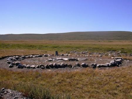 Место захоронения принцесс Укок. Фото: Kobsev /ru.wikipedia.org/Public Domain