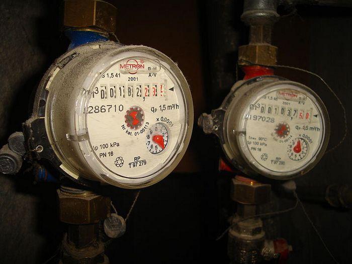 счётчики плата за отопление
