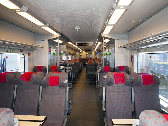 На поездах МКЖД вагоны будут бестамбурными