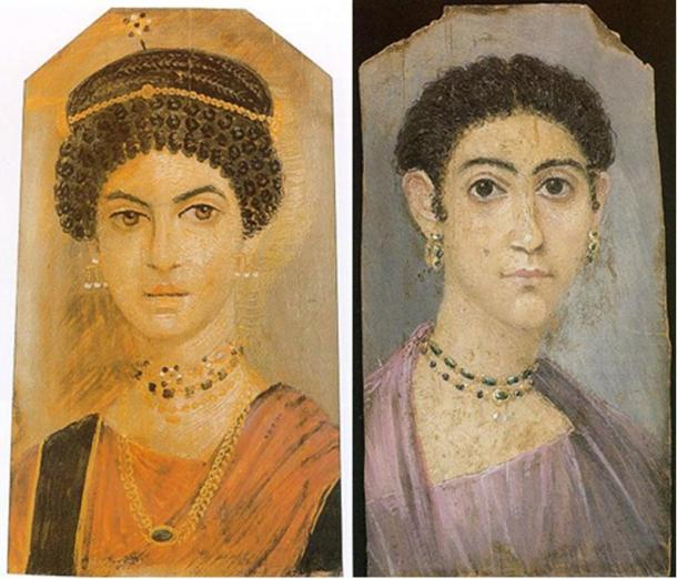 Фаюмские портреты для мумий показывают высокое мастерство живописи и неврологические расстройства древних египтян (видео)