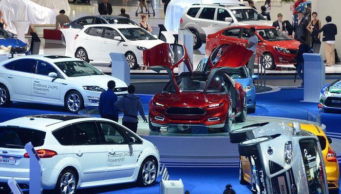 Московский международный автосалон открыли для публики