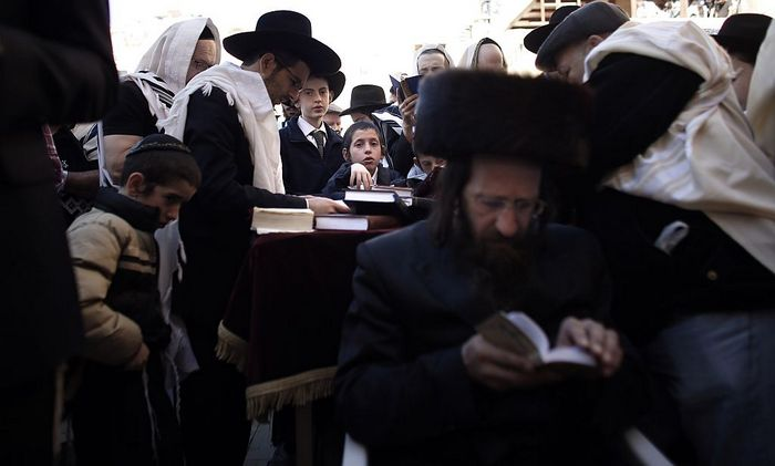 Ортодоксальные евреи. Фото: THOMAS COEX/AFP/Getty Images