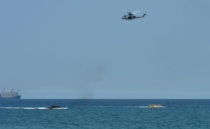 Ситуация в Южно-Китайском море становится всё более напряжённой. Фото: TED ALJIBE/AFP/Getty Images