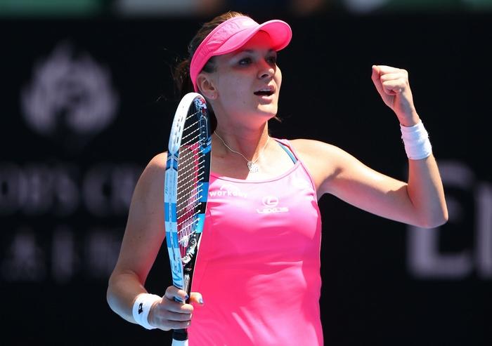Польская теннисистка Агнешка Радваньская. Фото: Cameron Spencer/Getty Images