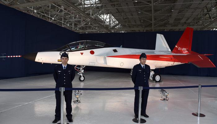 Япония испытала самолёт-невидимку (видео)