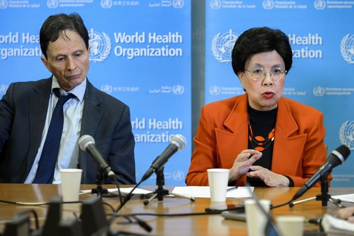 Глава ВОЗ Маргарет Чен. Фото: FABRICE COFFRINI/AFP/Getty Images