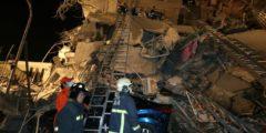 Землетрясение на Тайване магнитудой 6,4: обрушились 2 высотных жилых здания, есть погибшие