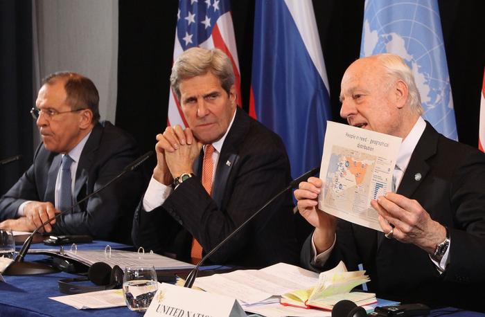 Сирия, переговоры в Мюнхэне