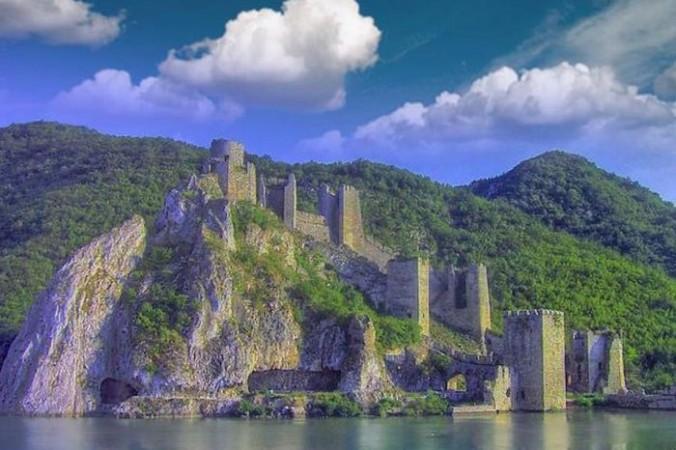Крепость Голубац, Сербия. Фото: CC BY-SA 3.0