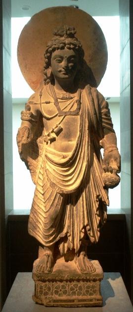 Будда Майтрейя. Фото: Public Domain