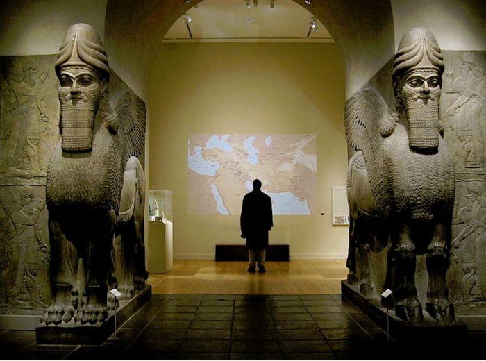 Мифические сфинксы Месопотамии (видео)